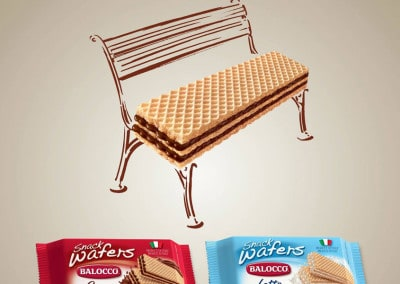 Wafer Balocco – Poster